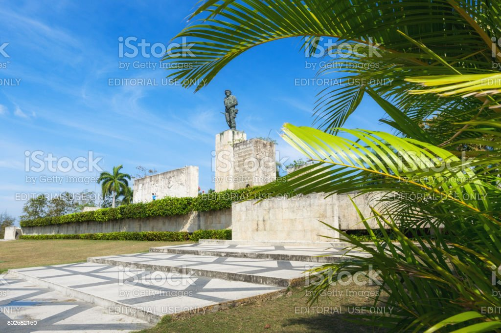Che Guevara memorial in Santa Clara, Cuba stock photo