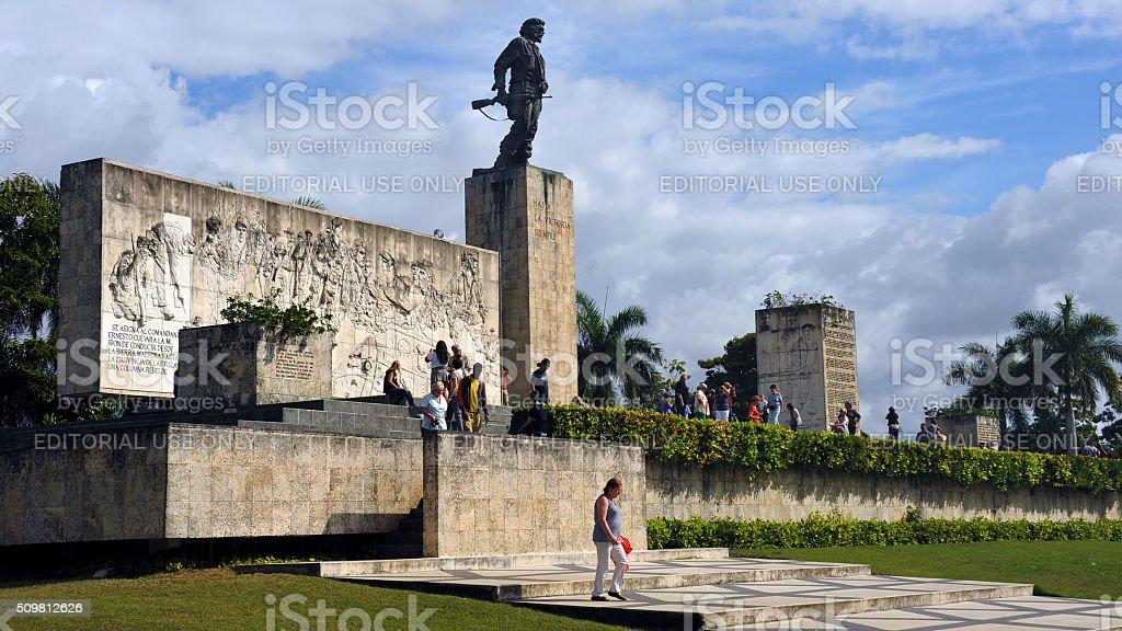 Che Guevara Memorial stock photo