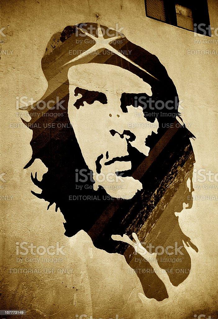 Che Guevara Mural stock photo