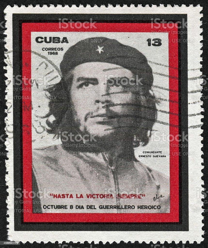 Che Guevara Stamp stock photo