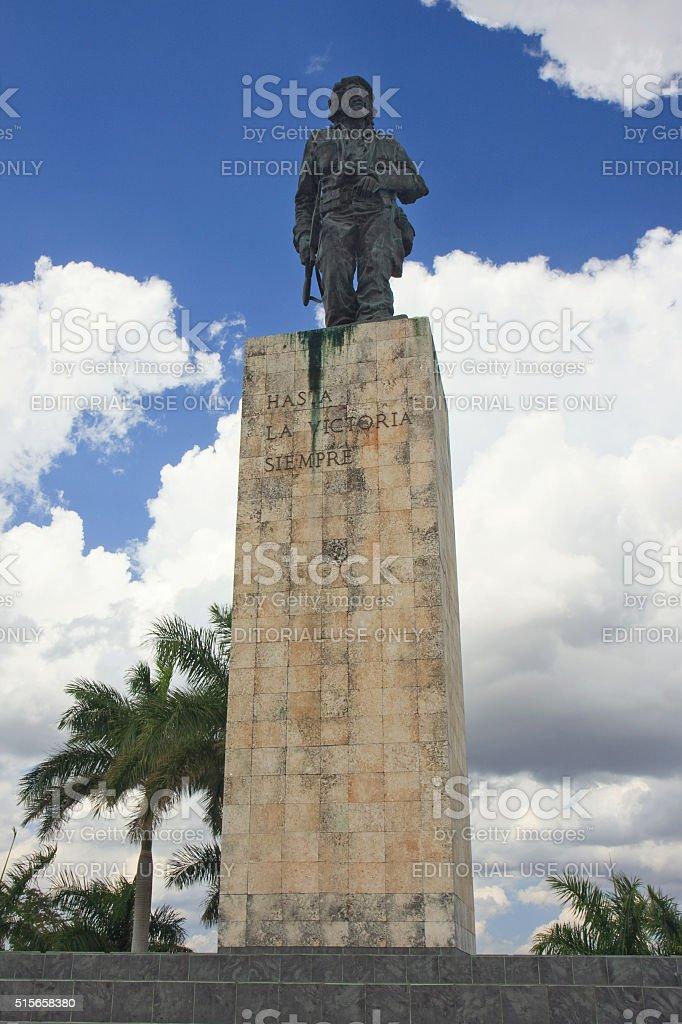 Che Guevara Statue in Santa Clara stock photo