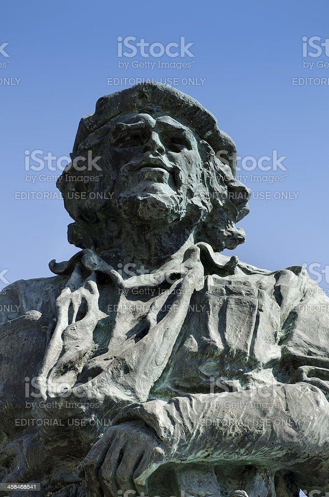 Che Guevara statue royalty-free stock photo