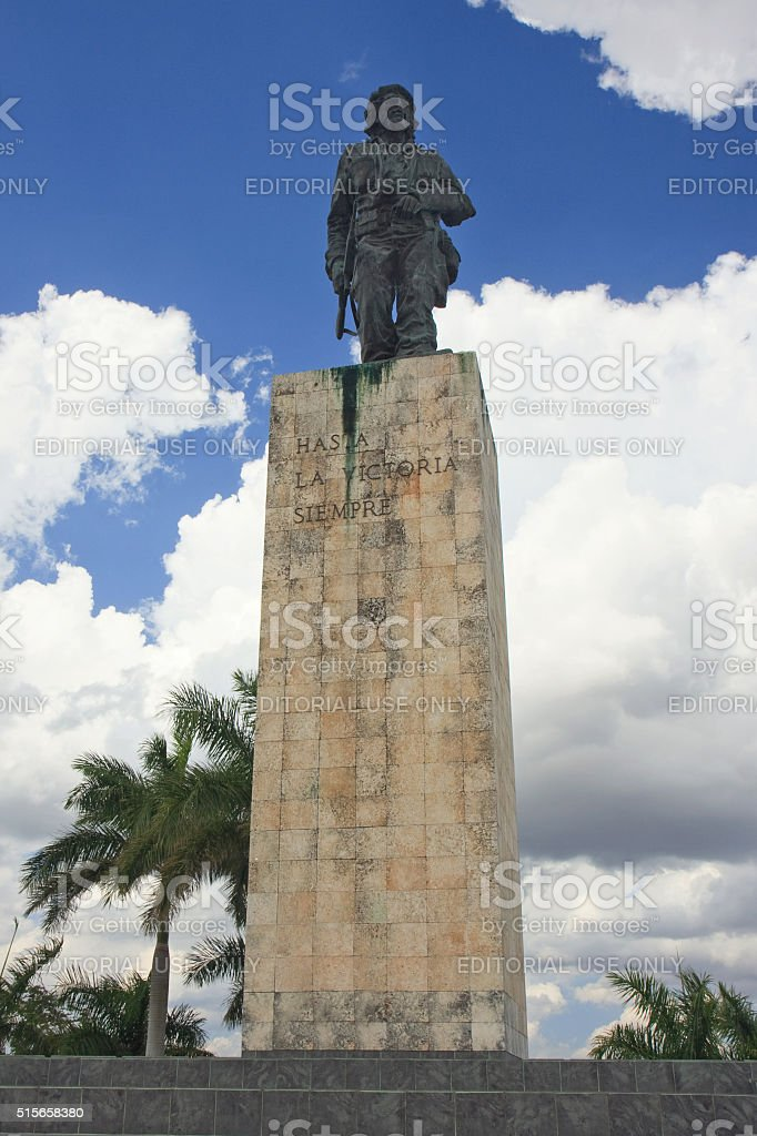 Che Guevara Statue in Santa Clara stock photo