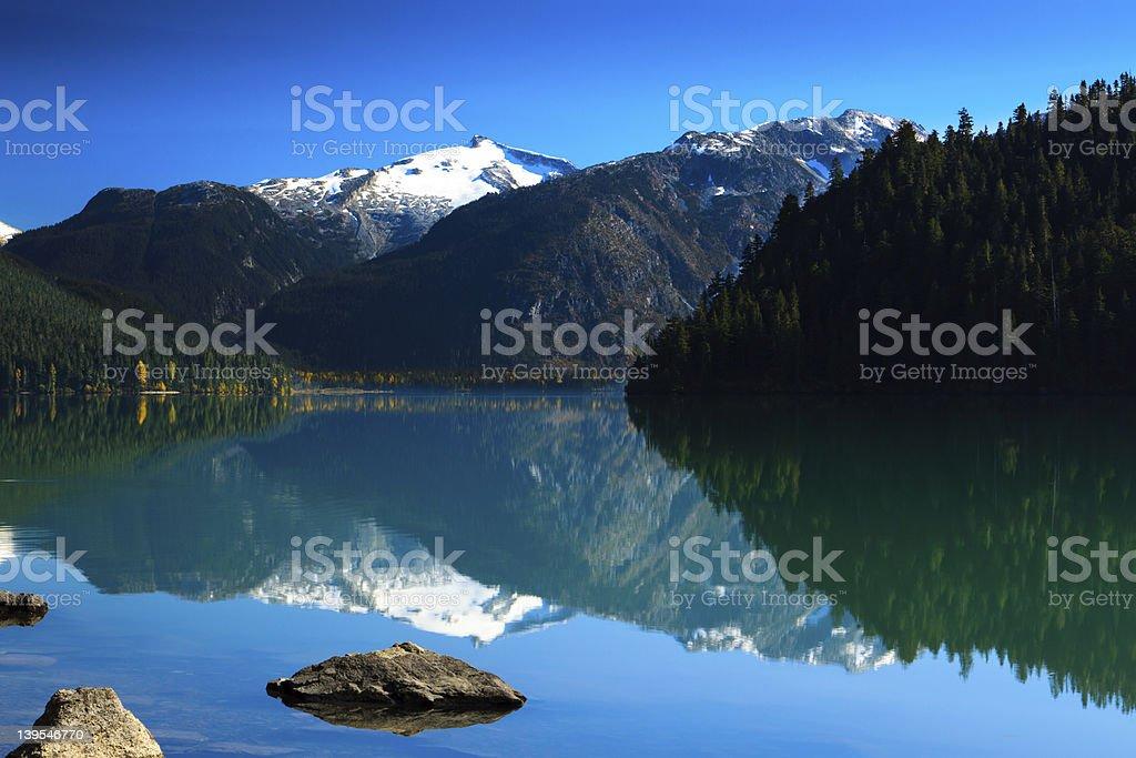 Cheakamus Lake stock photo