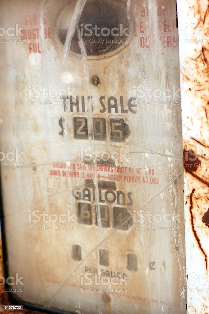 Cheap Gas royalty-free stock photo