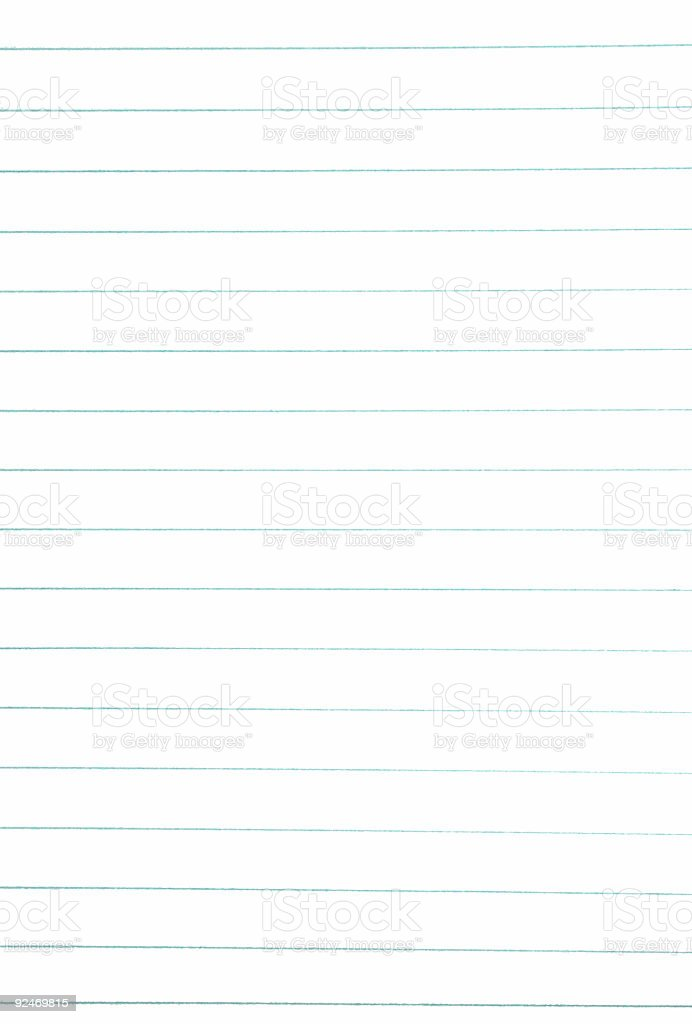 cheap ruled paper stock photo
