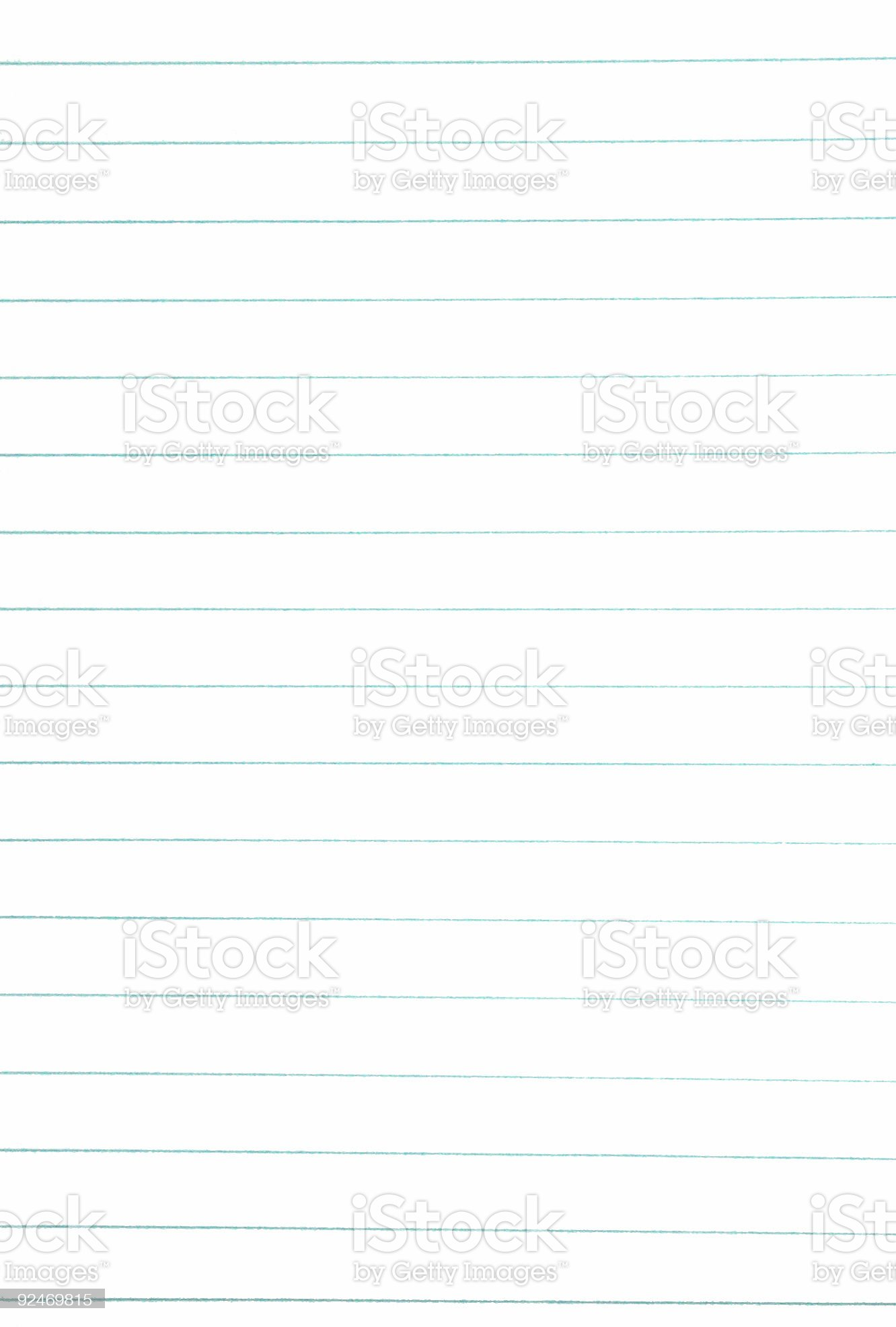 cheap ruled paper royalty-free stock photo