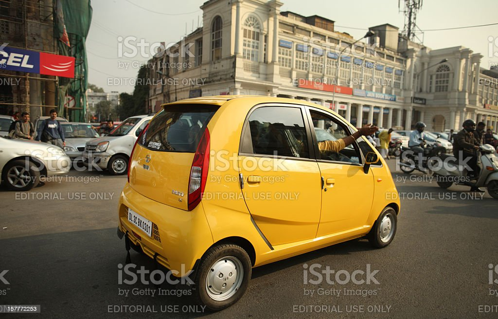 Cheapest Car in the world stock photo