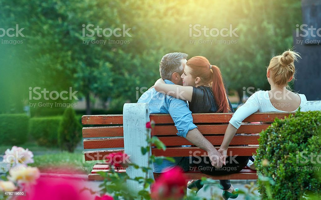 cheating stock photo