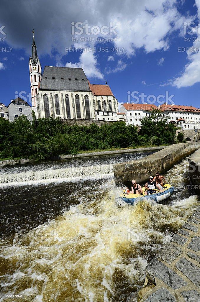 Chech Republic, Krumlov royalty-free stock photo