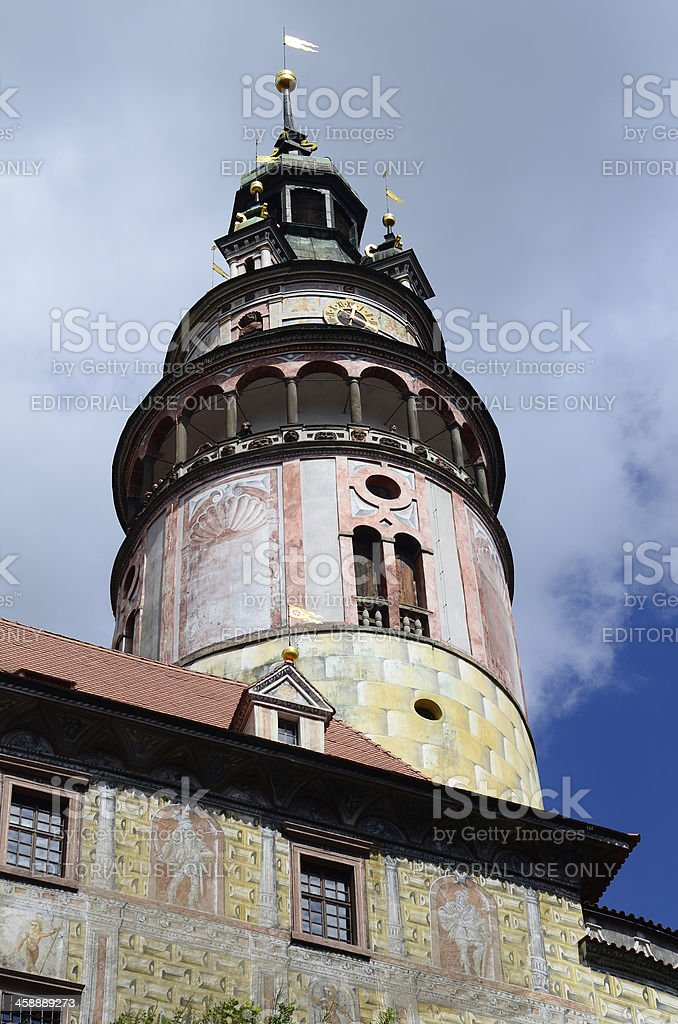 Chech Republic, Krumlov royalty-free stock photo