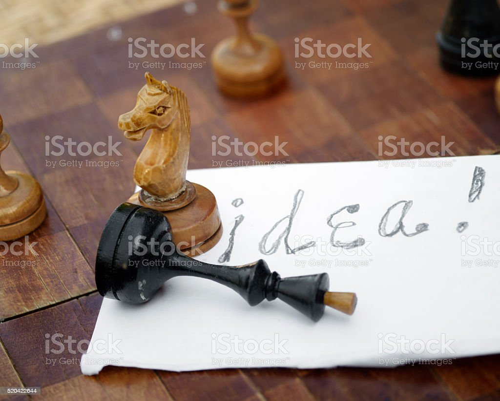 Check And Mate stock photo