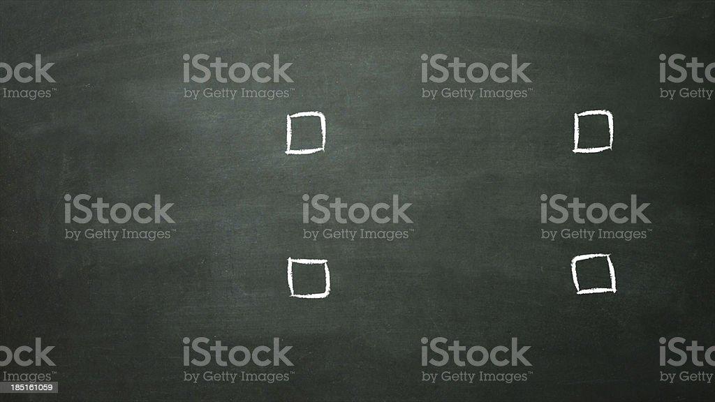 check box selection empty royalty-free stock photo