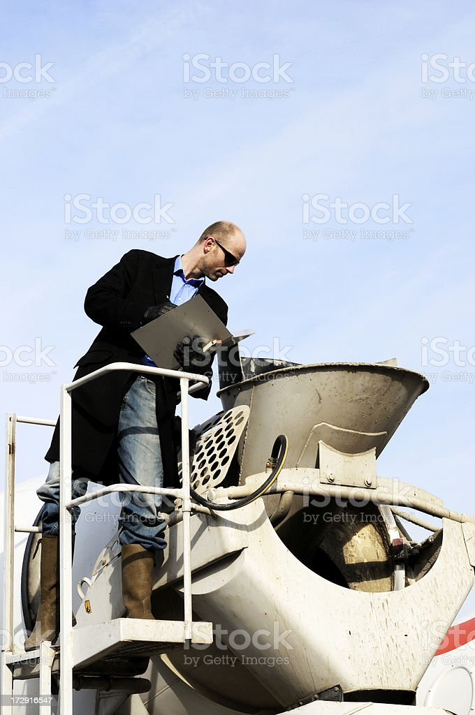 check it out man royalty-free stock photo