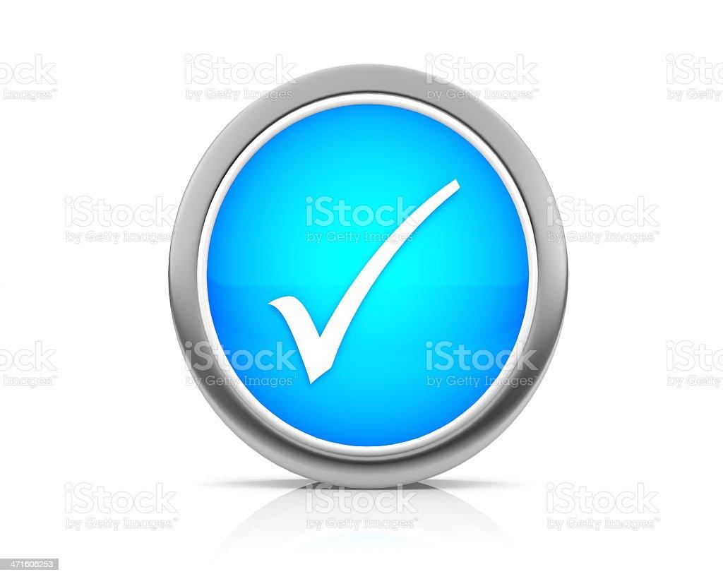 check mark icon royalty-free stock photo
