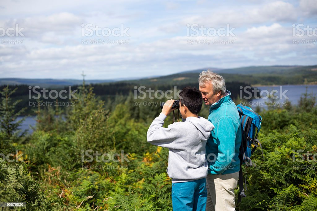 Check out those views stock photo