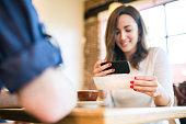 Check Remote Deposit Capture at Cafe