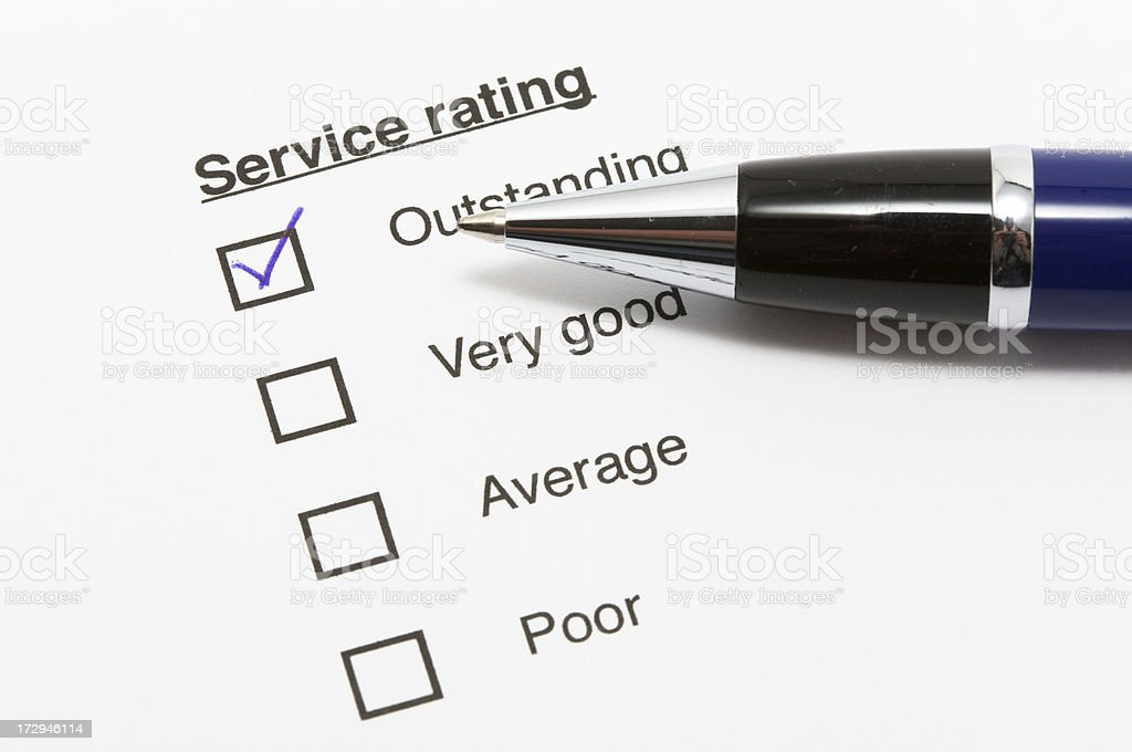 Check Service royalty-free stock photo