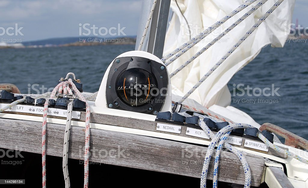 Check the compass! royalty-free stock photo