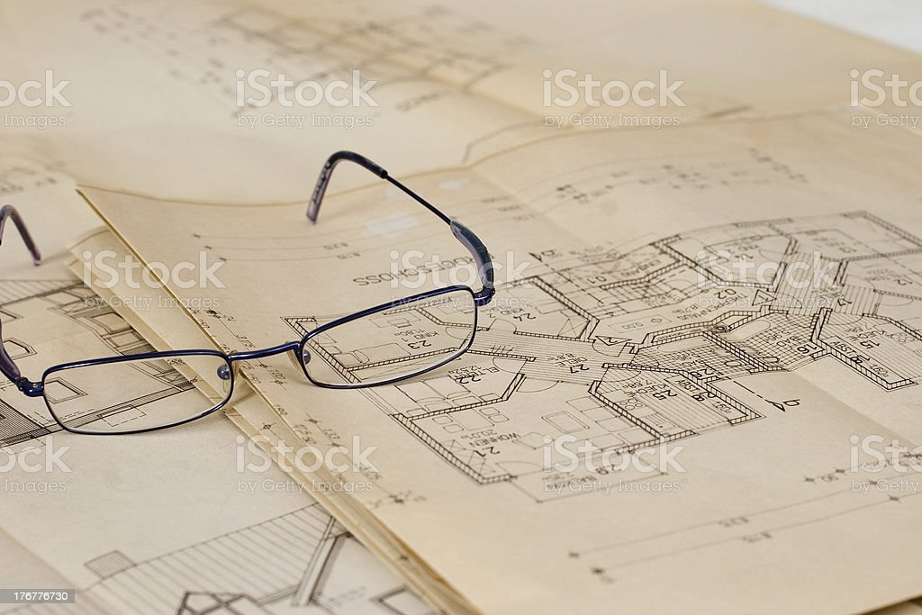 check the plan royalty-free stock photo