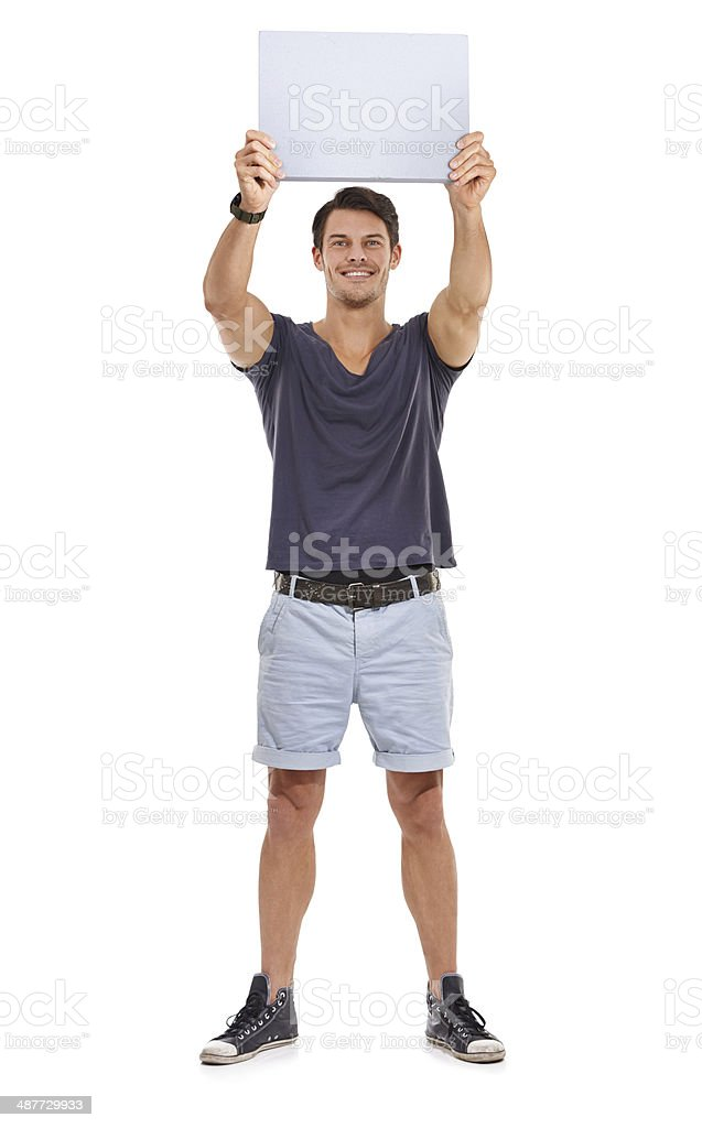 Check this out! stock photo