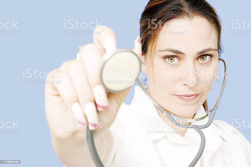 Check Up royalty-free stock photo