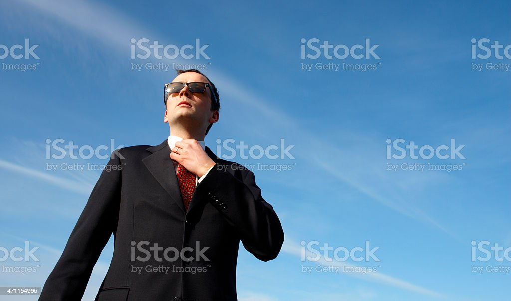 Check Your Tie royalty-free stock photo