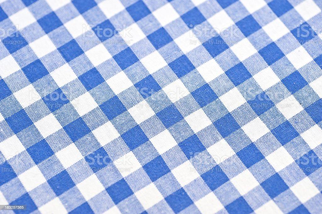 checked bavarian pattern stock photo