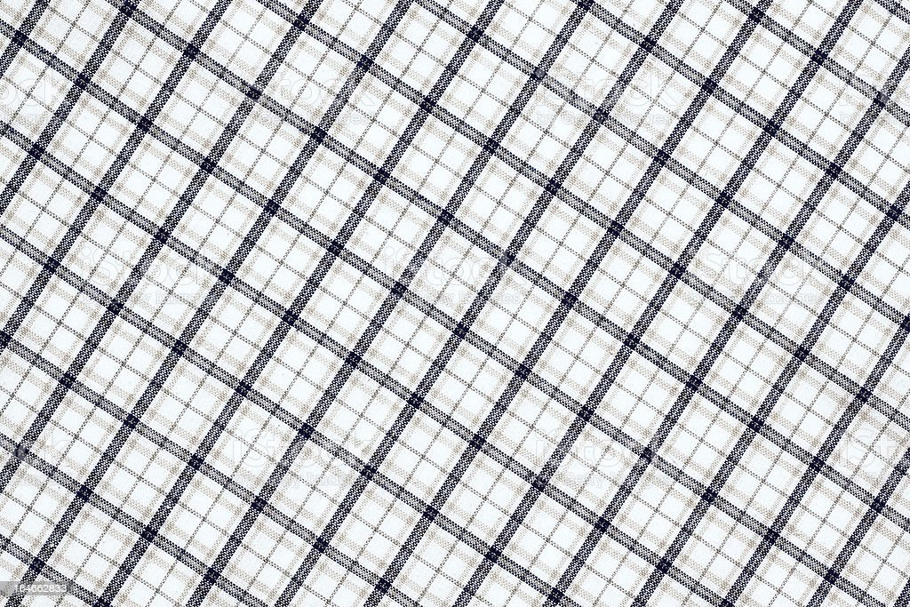 Checked fabric background royalty-free stock photo