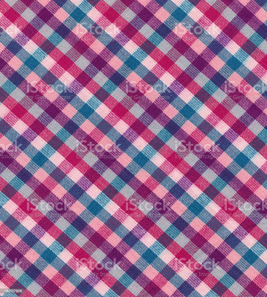 checked fabric royalty-free stock photo