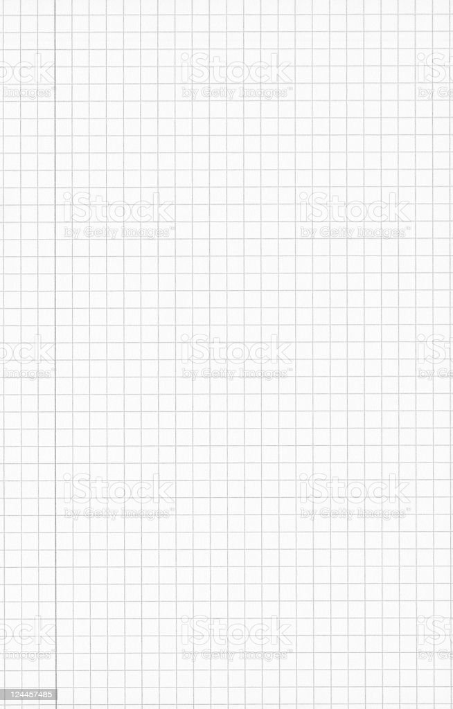 Checked Paper royalty-free stock photo