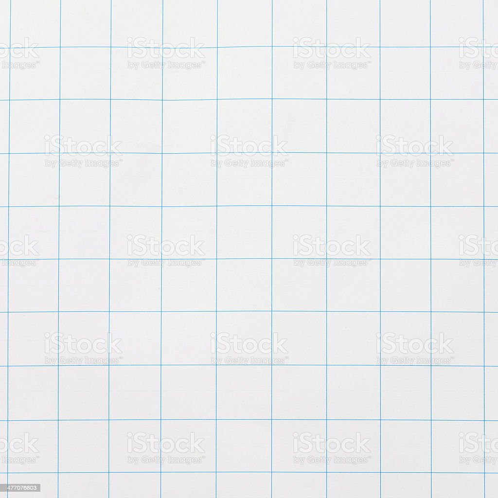 Checked Pattern on Paper stock photo