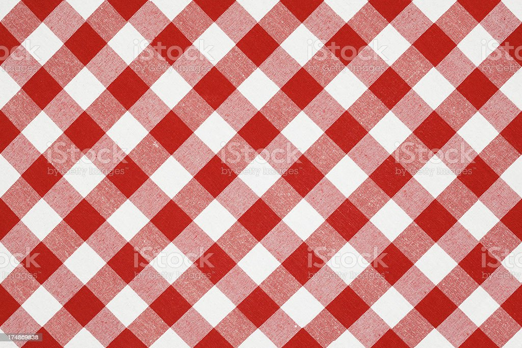 Checked Tablecloth SEAMLESS royalty-free stock photo
