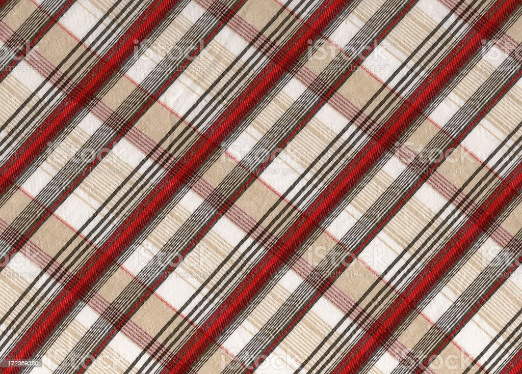 Checked textile pattern royalty-free stock photo