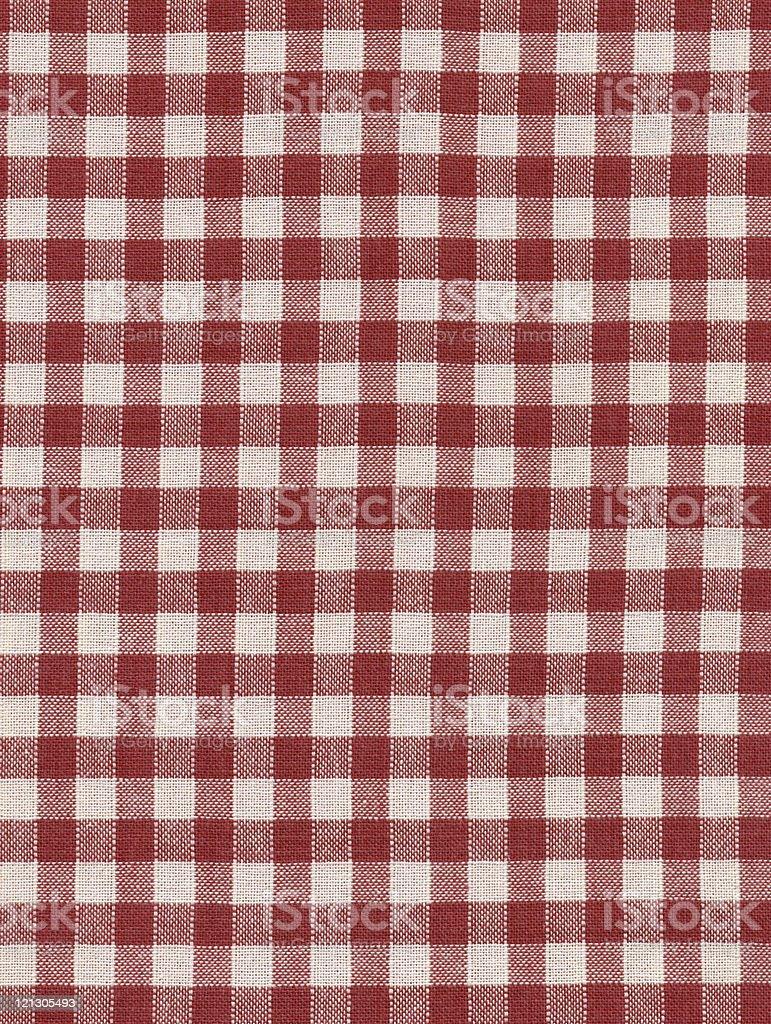 checked textile royalty-free stock photo