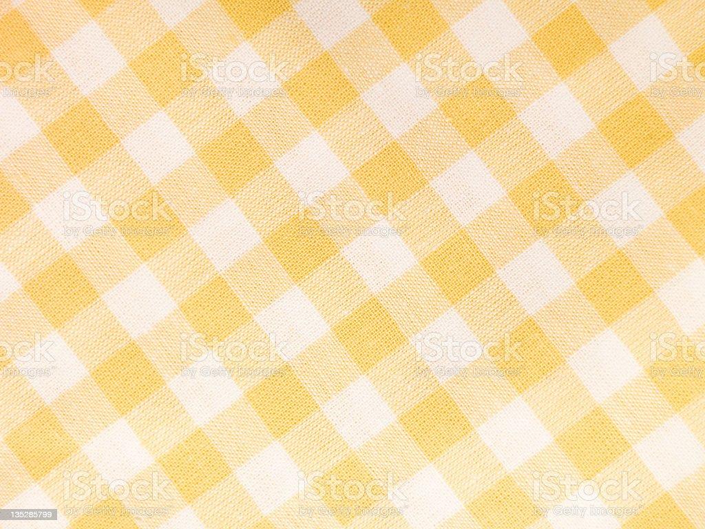 Checked Textile stock photo