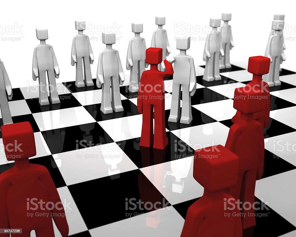 Checker board game world peace concept royalty-free stock photo
