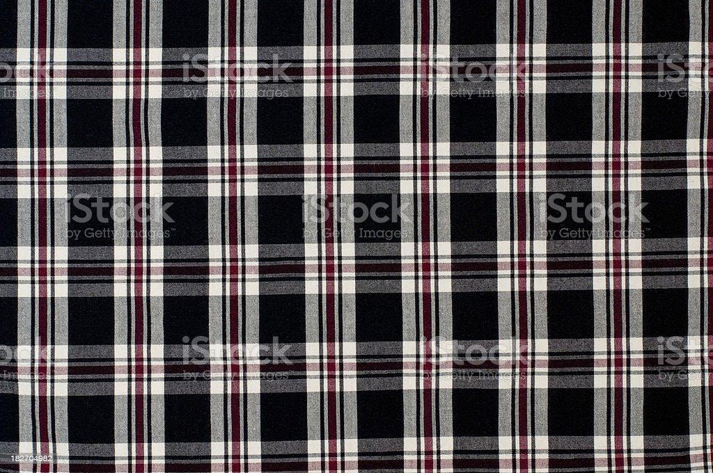 Checker fabric pattern royalty-free stock photo