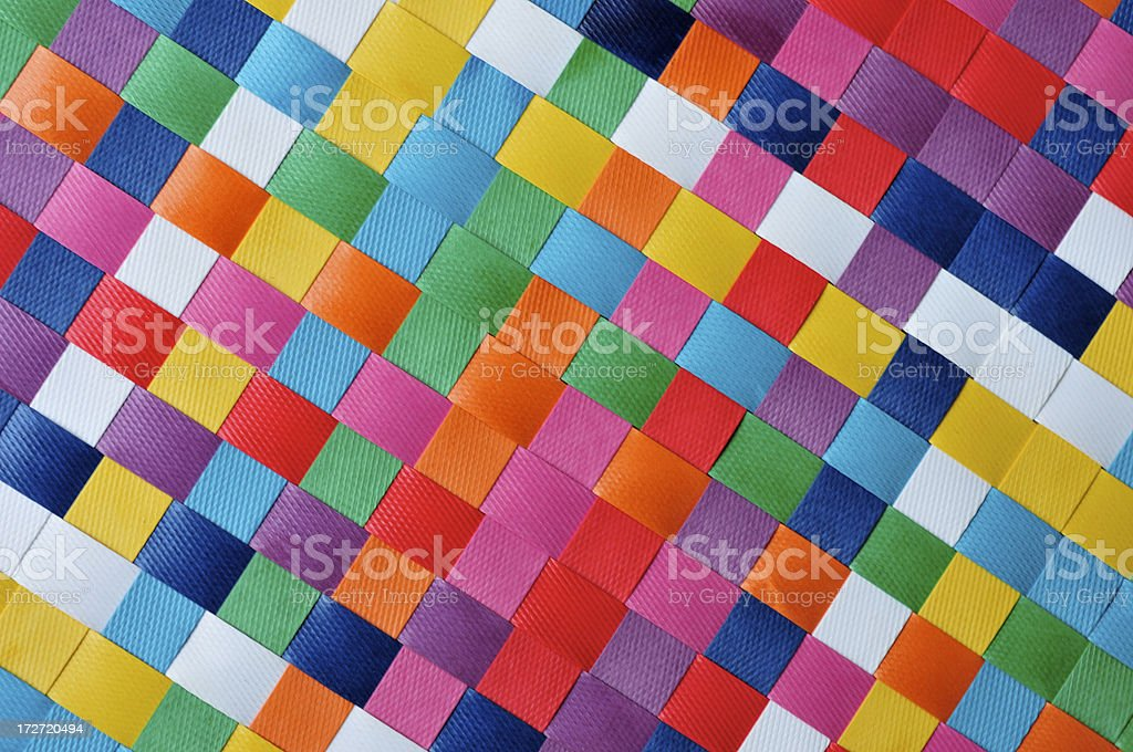 Checkerboard Diagonal stock photo