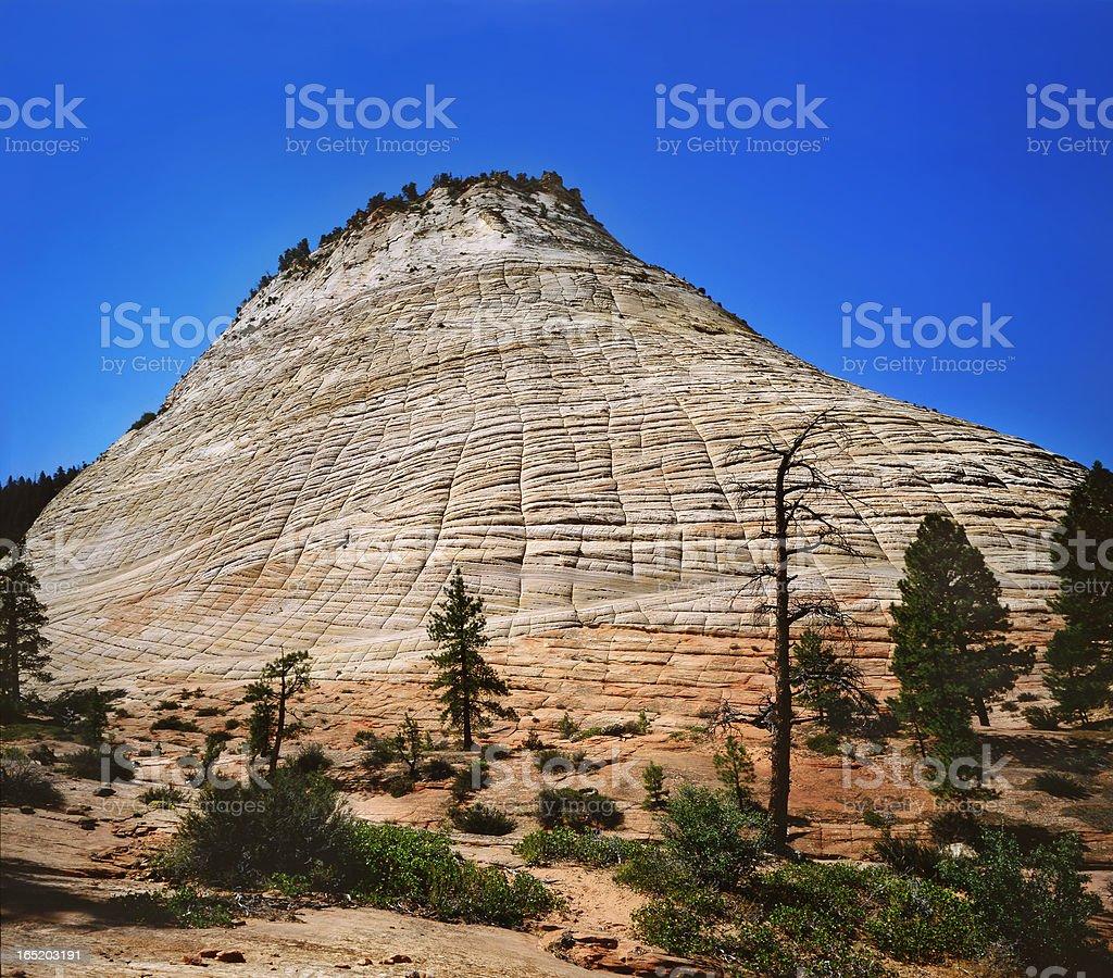 Checkerboard Mesa royalty-free stock photo