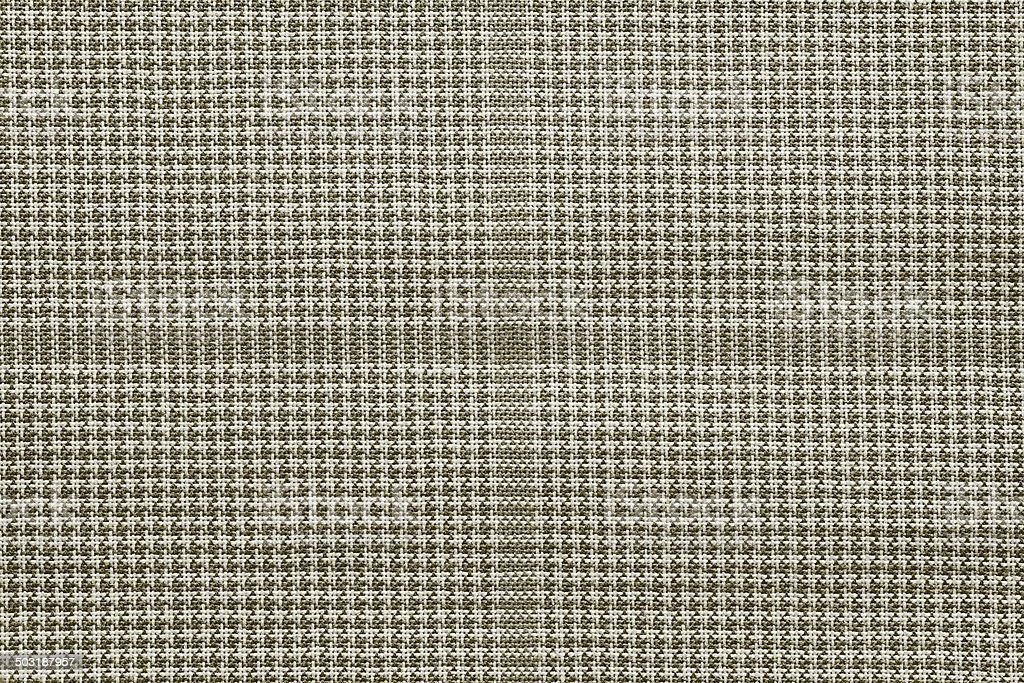 checkered fabric of beige color stock photo