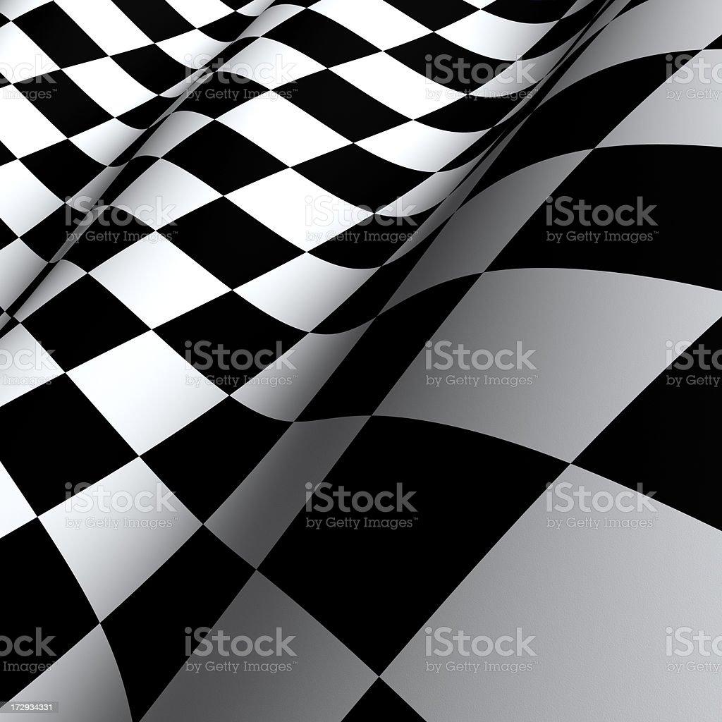 Checkered Flag (XXXL) royalty-free stock photo