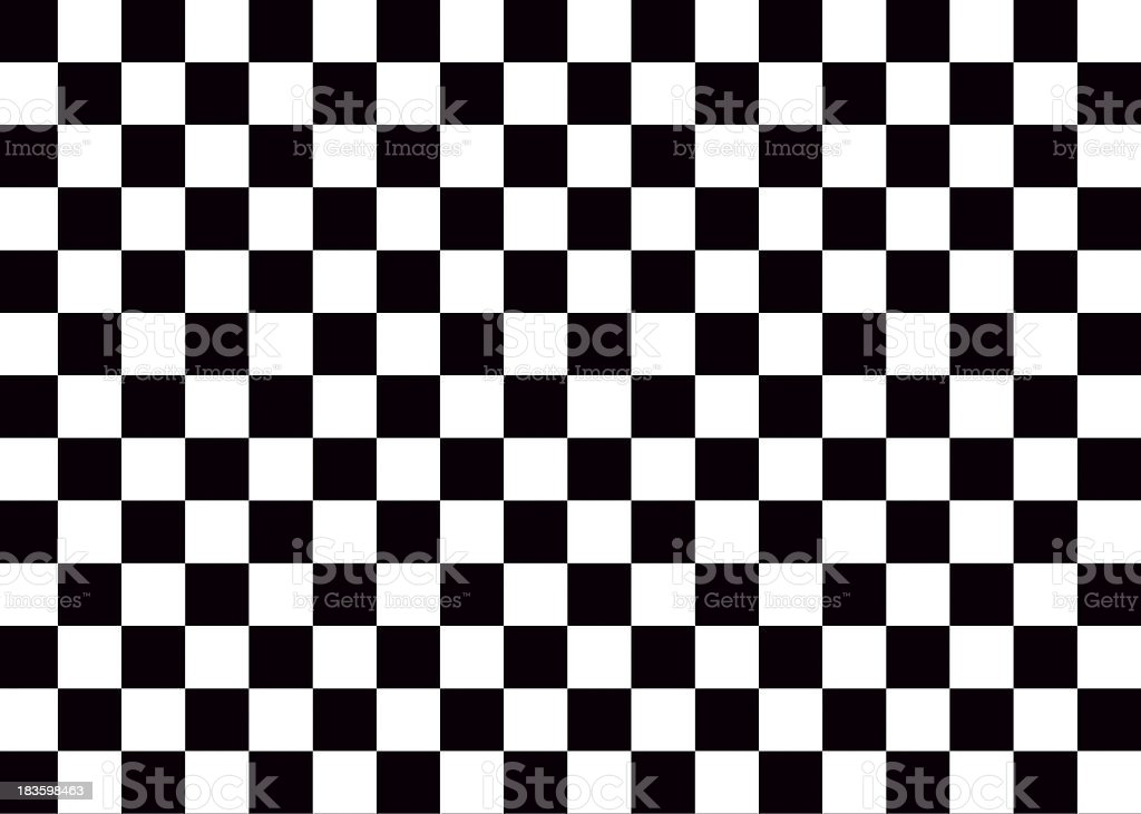 Checkered flag texture stock photo