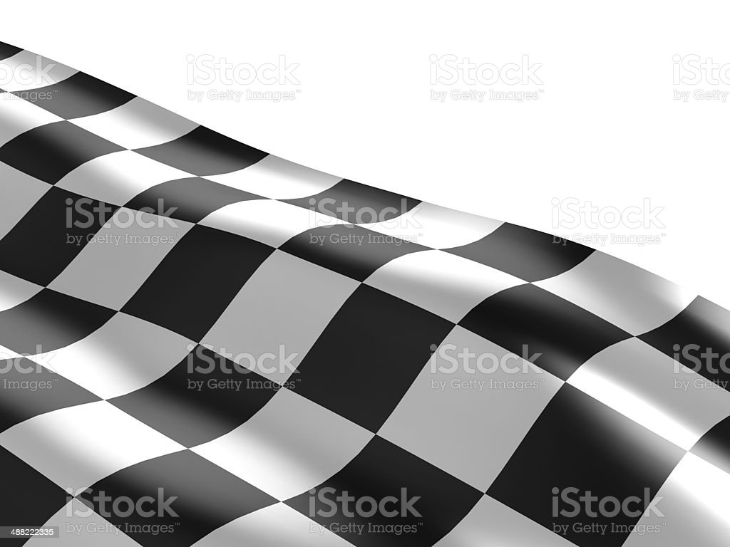 Checkered flag texture. stock photo