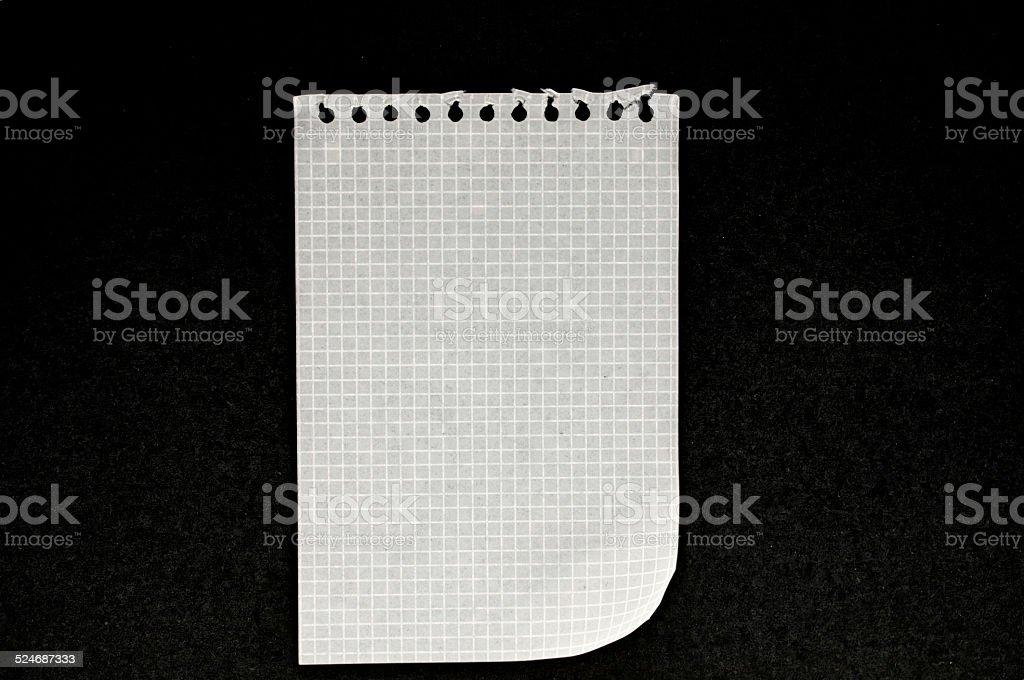 checkered paper stock photo