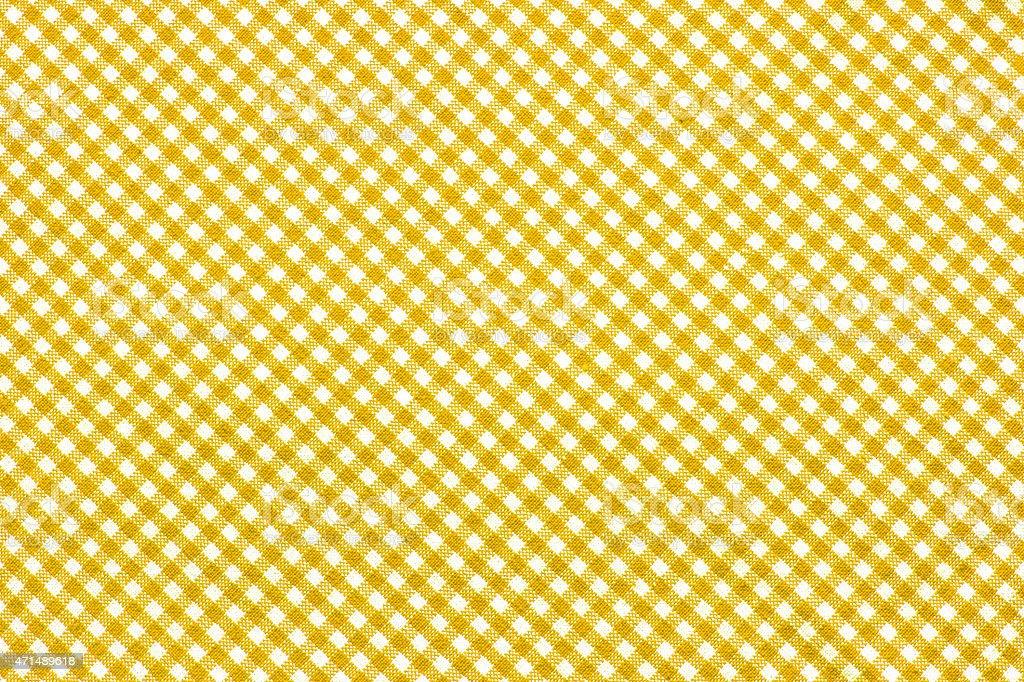 Checkered Tablecloth stock photo