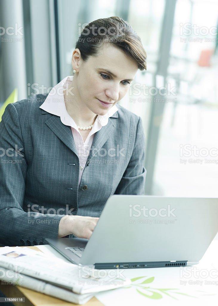 Checking e-mail royalty-free stock photo