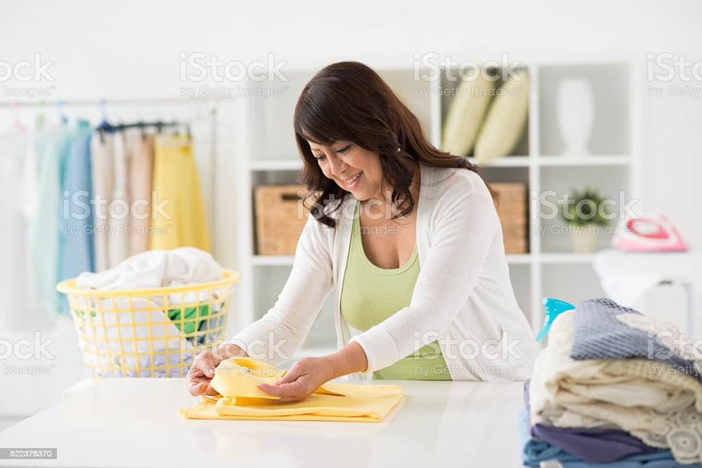 Checking lables stock photo