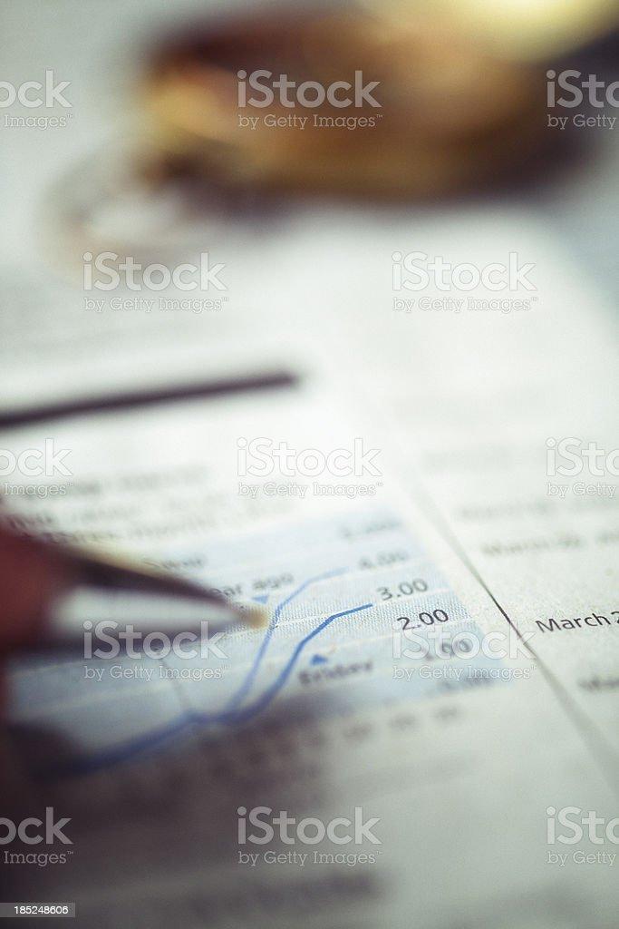 checking stock royalty-free stock photo