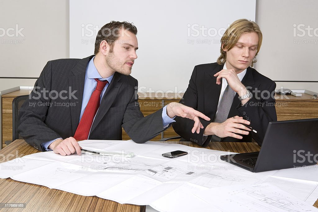 Checking the design royalty-free stock photo